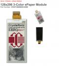 128x296 ePaper Display by Crystalfontz
