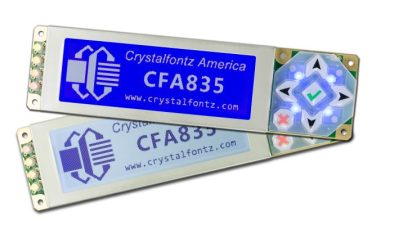 The two available colors of the CFA835