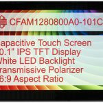 Crystalfontz Capacitive Touch Display