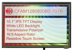 Crystalfontz Resistive Touch Display
