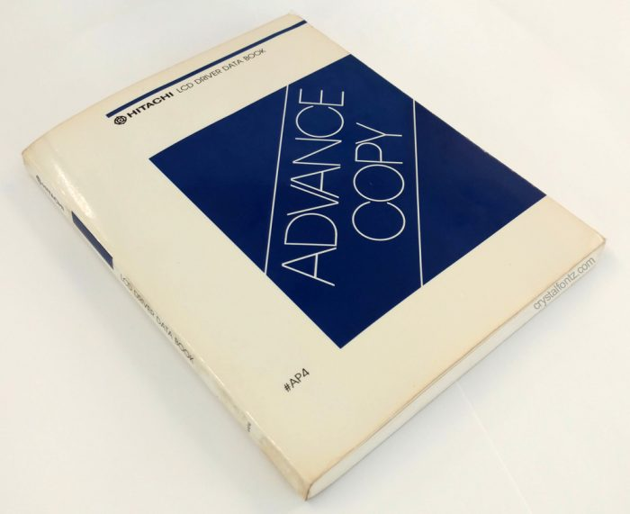1985 HD44780 Controller Data Book - crystalfontz.com