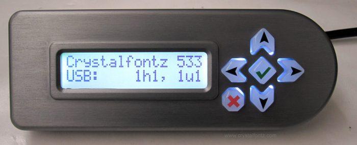 Water-Resistant 633 Keypad LCD Housing