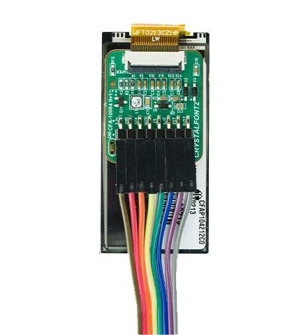 Crystalfontz ePaper Adapter demo