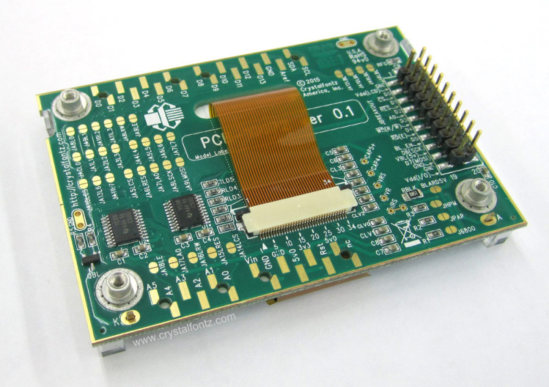 128x64 Graphic LCD Breakout Kit