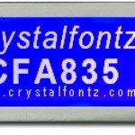CFA835 - 244x68 Graphic LCD - Crystalfontz