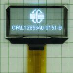 Transparent OLED - CFAL12856A0-0151-B-Front-On-Grid-Paper