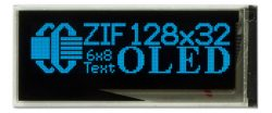 128x32 OLED Blue - Crystalfontz America
