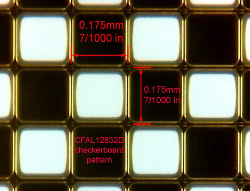 Single Pixel Monochrome PMOLED - www.crystalfontz.com