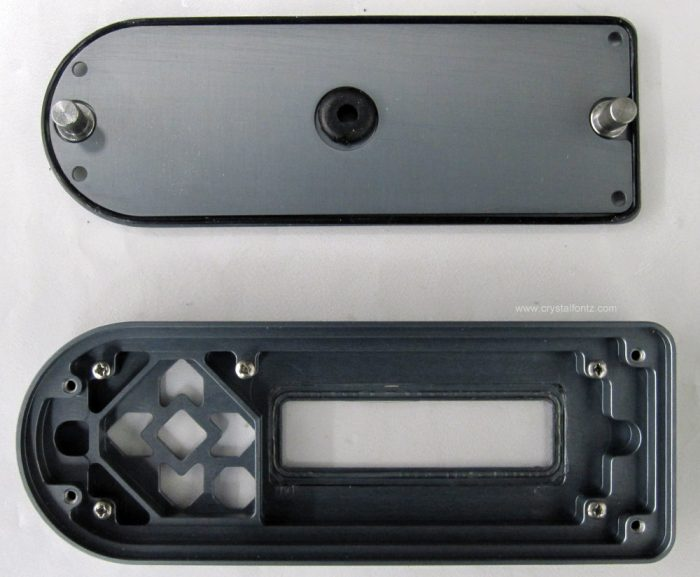 Water-Resistant 633 Keypad LCD Housing