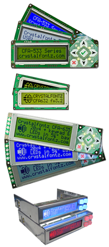 Crystalfontz Advanced LCD Modules