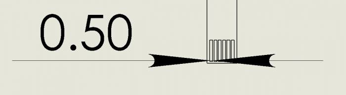 ZIF tail drawing
