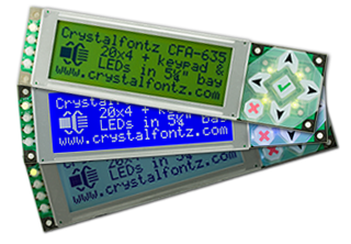 CFA635 Intelligent Display Modules