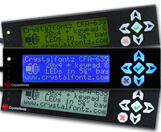 CFA735 Intelligent Display Module