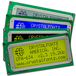 CFA634 Intelligent Display Modules