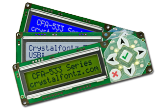 CFA533 Intelligent Display Modules