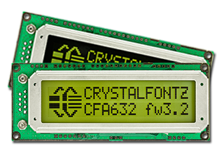 CFA632 Intelligent Display Modules