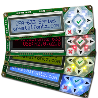 CFA633 Intelligent Display Modules