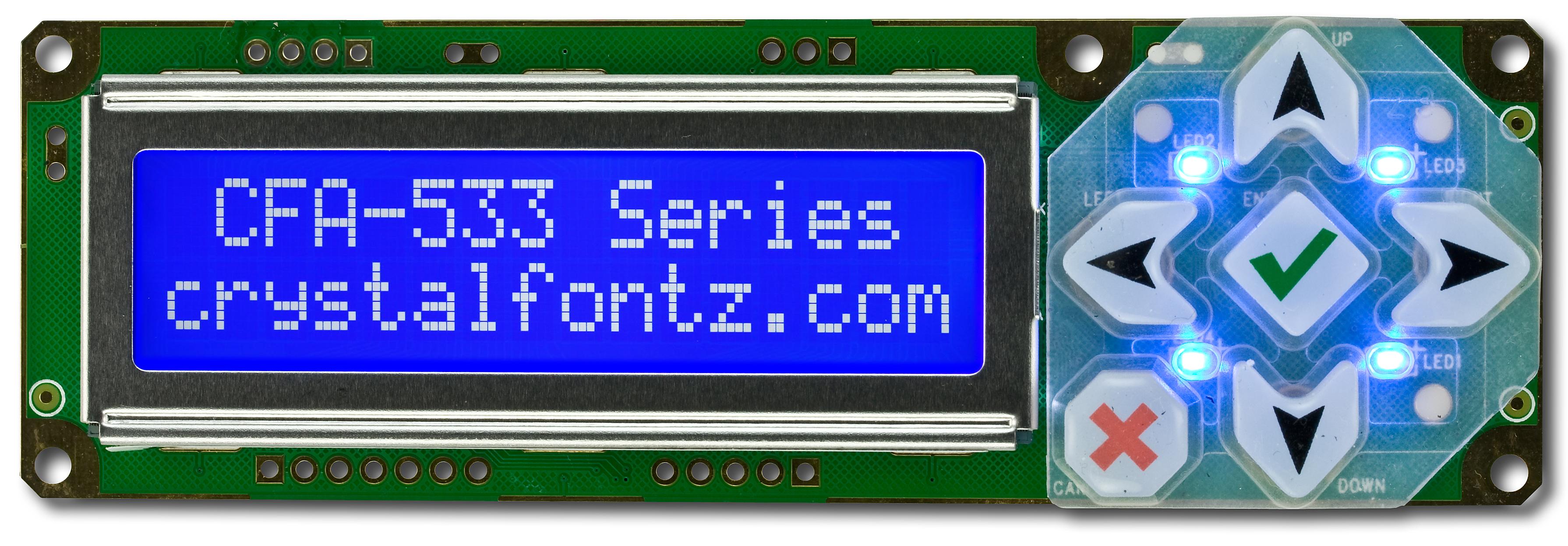 Crystalfontz LCD Module USB Driver for Windows 7