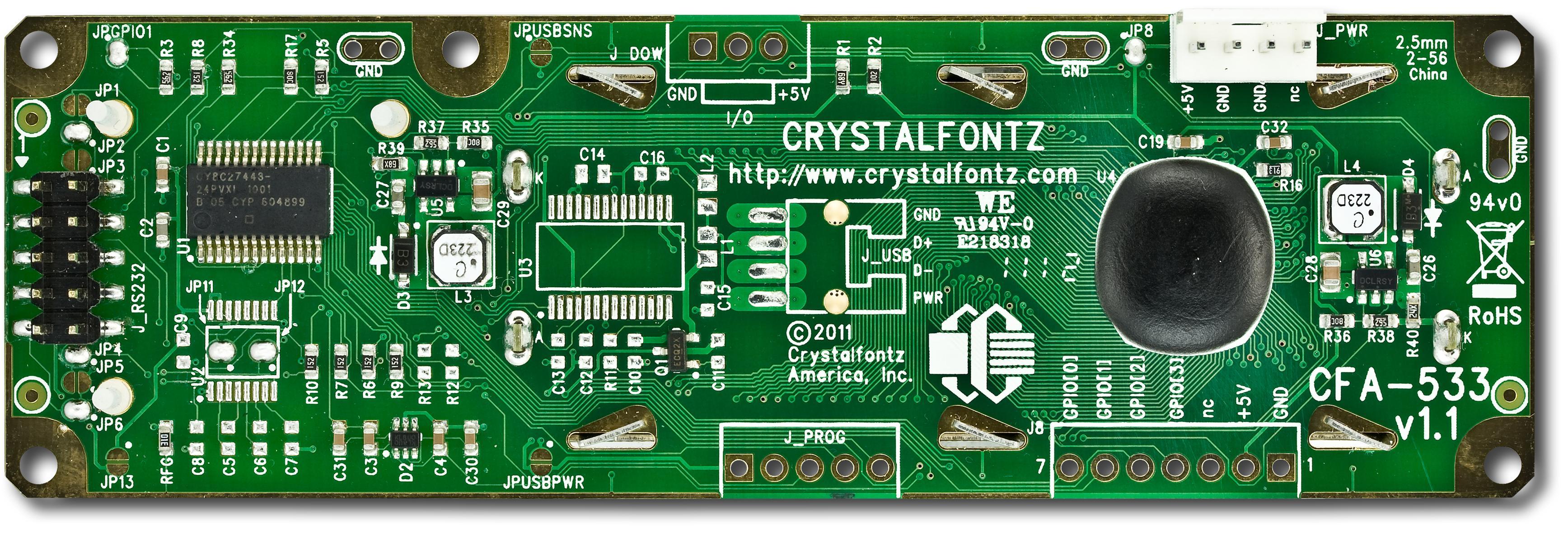 16x2 I2C Character LCD