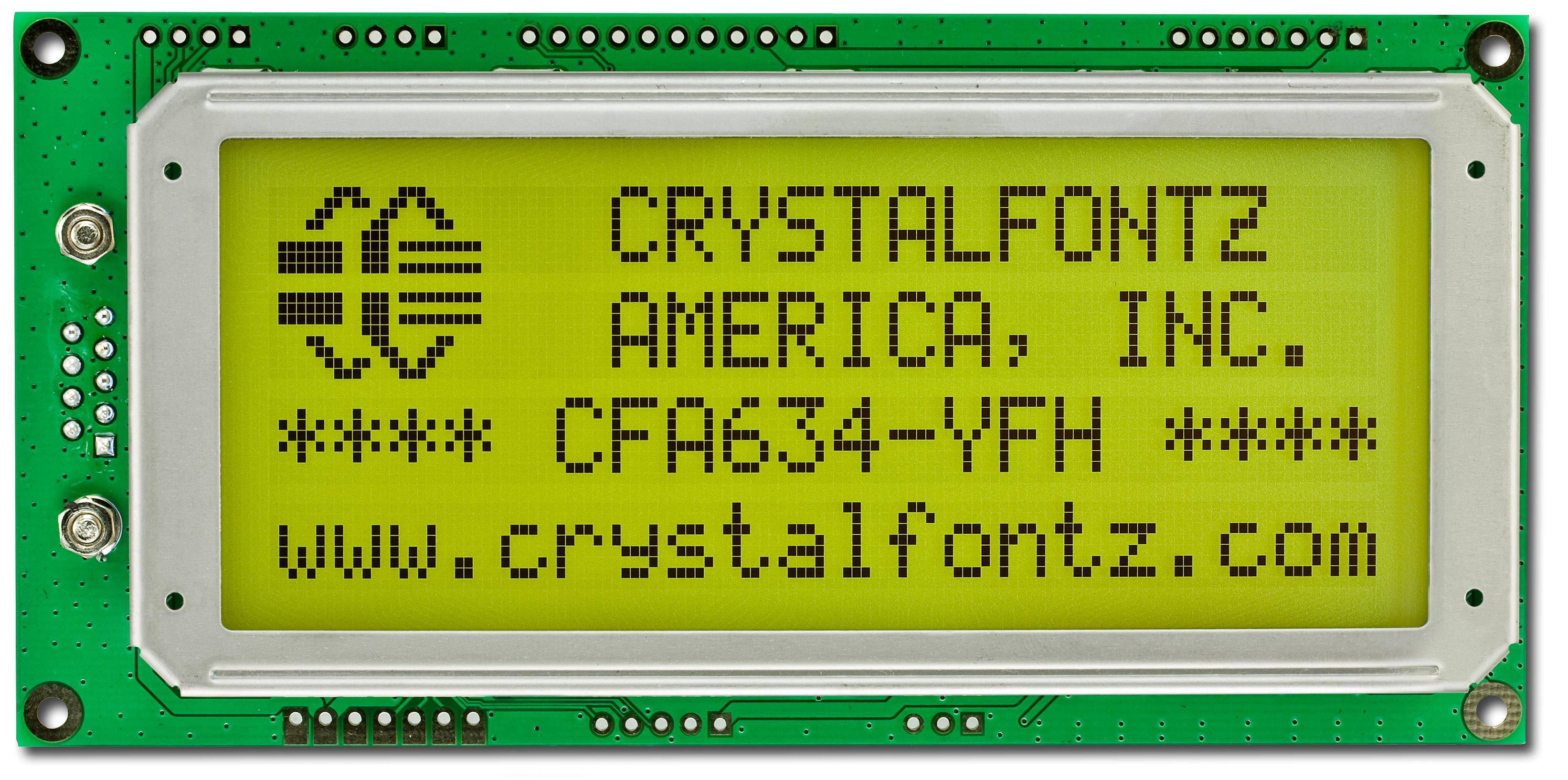 20x4 Character Display LCD