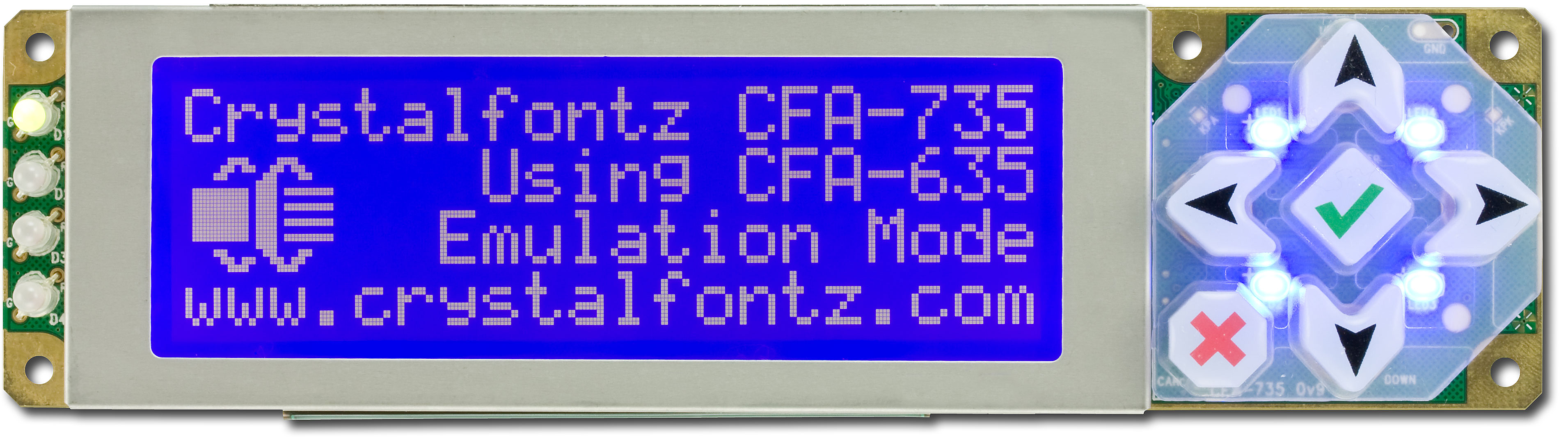 Crystalfontz LCD Module USB Driver for PC