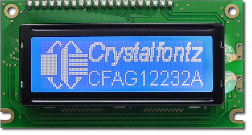 122x32 Parallel Graphic LCD