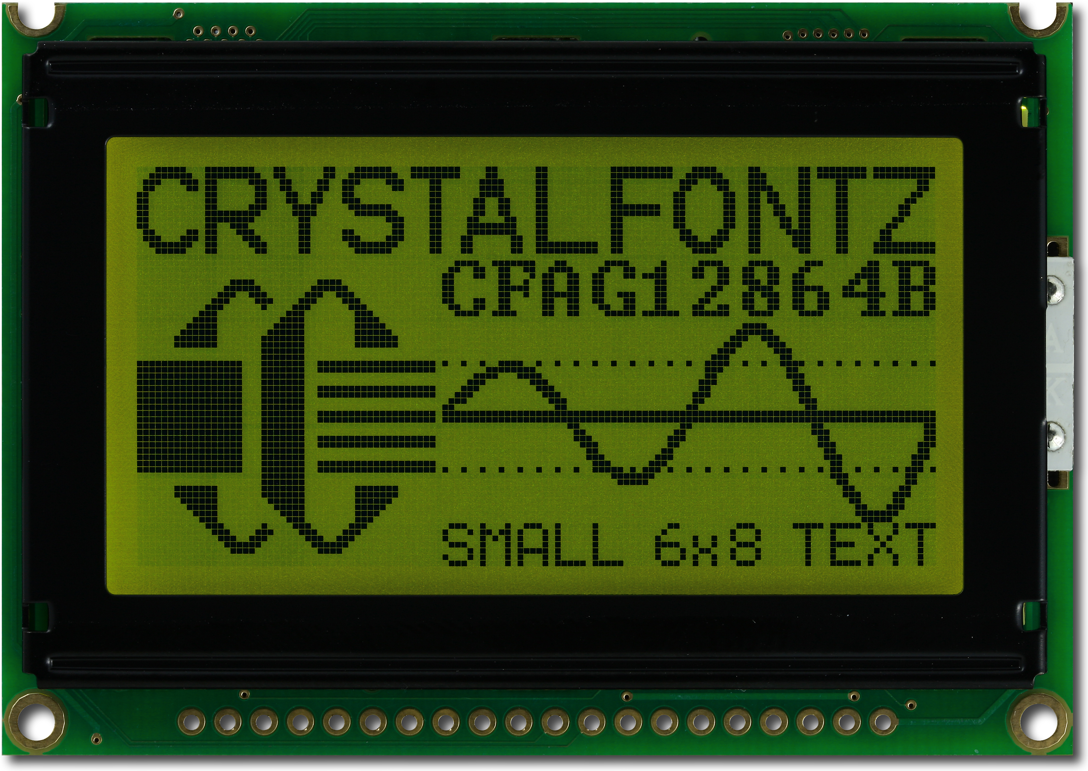 128x64 Transflective Graphical LCD