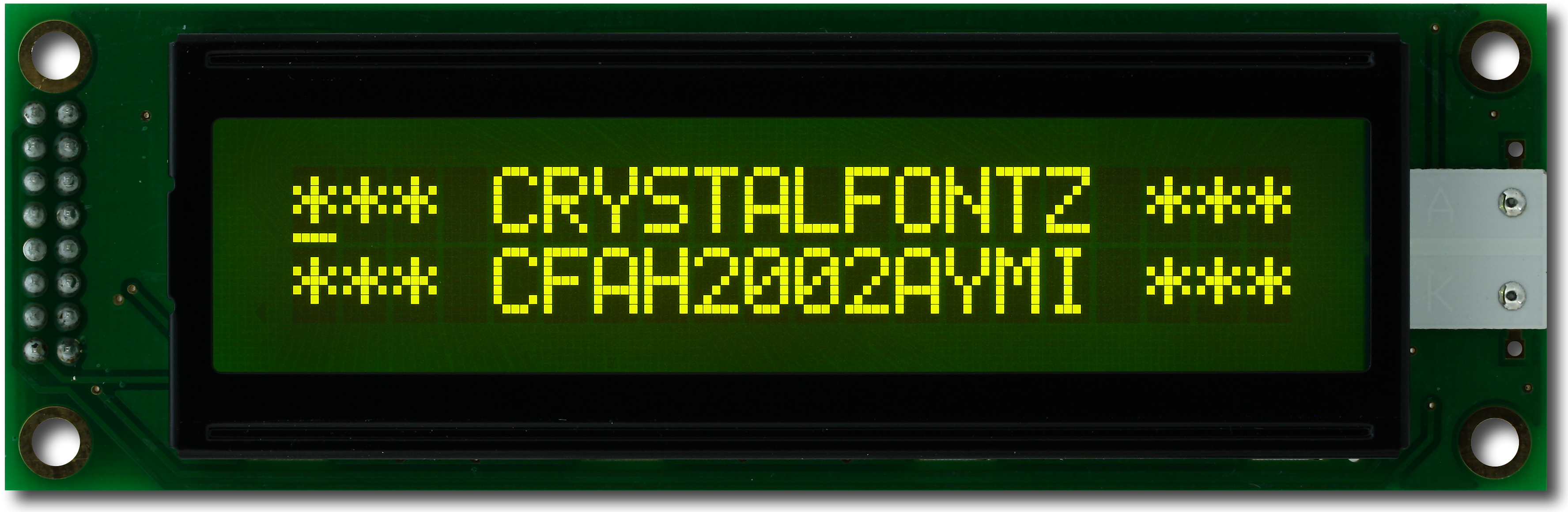 20x2 Parallel Character LCD