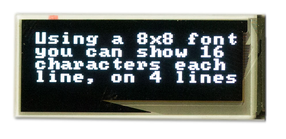 128x32 Graphical OLED Module