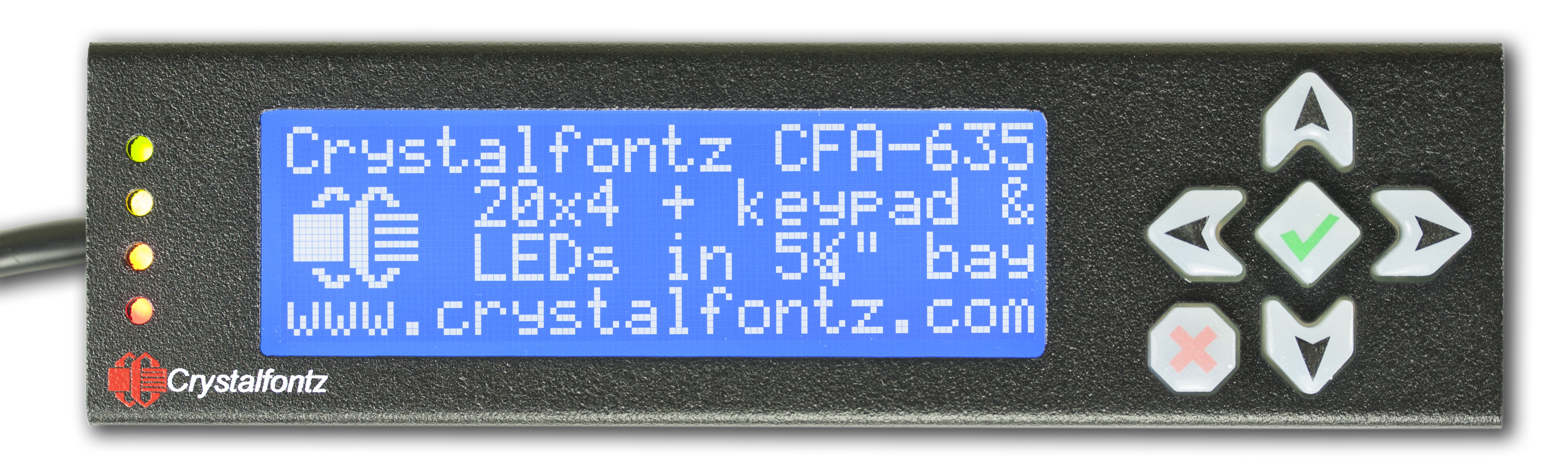 Crystalfontz LCD Module USB Driver Windows XP