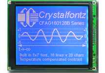 160x128  Parallel Graphic LCD CFAG160128B-TMI-TZ