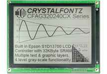 Sunlight Readable 320x240 Graphic LCD CFAG320240CX-TFH-T