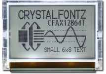 128x64 SPI Graphic LCD Display CFAX12864T1-TFH