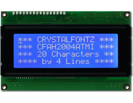Crystalfontz 20x4 display