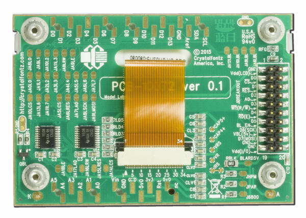 128x64 Graphical LCD Module