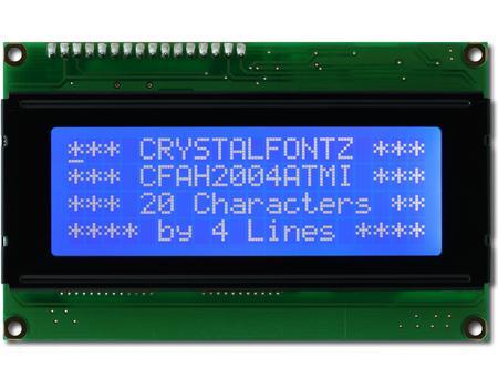 Crystalfontz 20x4 display