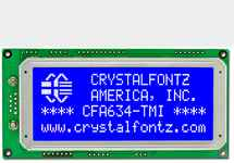 20x4 SPI Character LCD