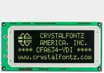 20x4  Serial RS-232 Character LCD
