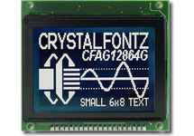 128x64 Parallel Graphic LCD CFAG12864G-STI-TY