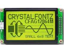 128x64  Parallel Graphic LCD CFAG12864M-YYH-TN