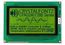 240x128 Sunlight Readable Graphic LCD CFAG240128B-YYH-TZ