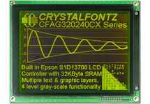 320x240  Parallel Graphic LCD CFAG320240CX-YMI-T