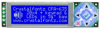 20x4  Serial Character LCD (CFA635-TMF-KL)