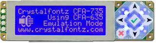 20x4 Character USB Display Module (CFA735-TML-KR)