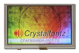 "5"" 800x480 Linux Touch Screen SOM (CFA921-TS)"
