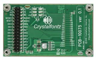 CFAF240400D-030T TFT With Carrier Board and Standoffs (CFAF240400D-030T-CB1)