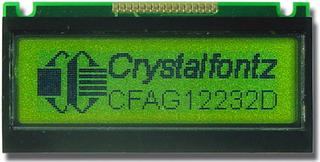 32x122  Parallel Graphic LCD (CFAG12232D-NYG-N)