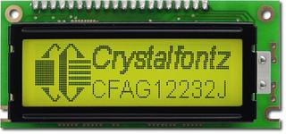 122x32  Parallel Graphic LCD (CFAG12232J-YYH-TA)