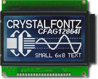 128x64 High Brightness Graphic LCD (CFAG12864I-STI-TN)