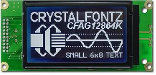 128x64  Parallel Graphic LCD (CFAG12864K-STI-TN)